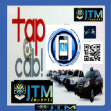 NFC-QR Code Vinyl- Polyester Raamstickers - 589