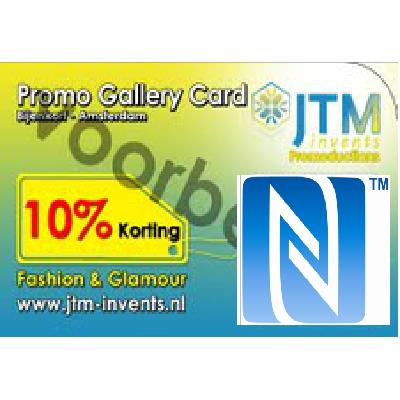 NFC/QR-Code Visitekaart(je) – Tag & Go